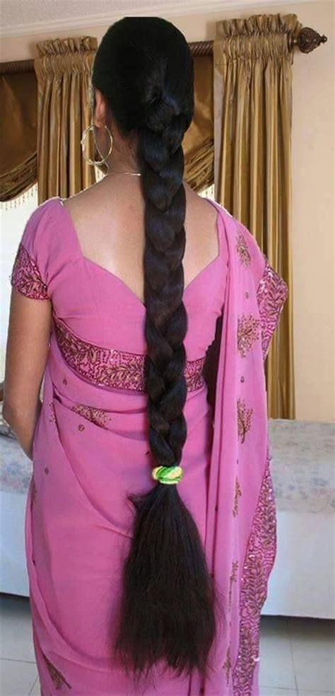 325 best images about long hair with saree on pinterest