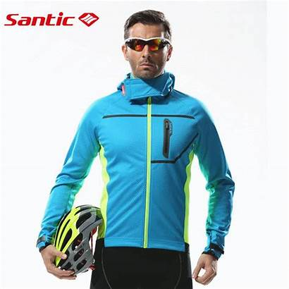 Bike Cycling Jacket Thermal Winter Santic Mtb