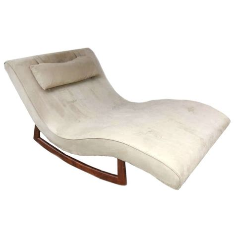 chaise rockincher adrian pearsall craft associates lounge chair rocking