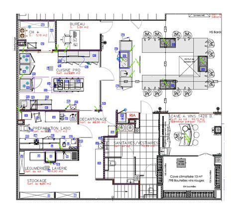 restaurant au bureau plan de cagne agma conception et études techniques de bâtiments