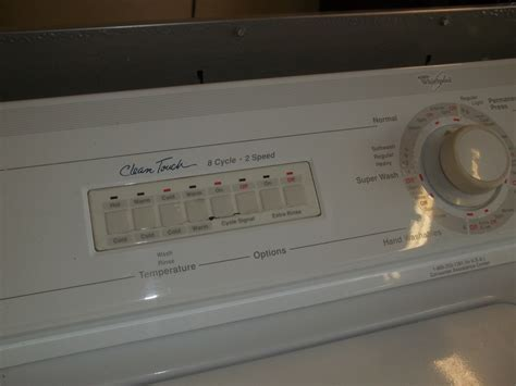 whirlpool washer whirlpool clean touch washer works great