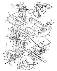 craftsman 46 deck belt diagram share the knownledge