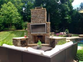 Outdoor Tv Archadeck Charlotte How to Make an Outdoor Fire Chimney