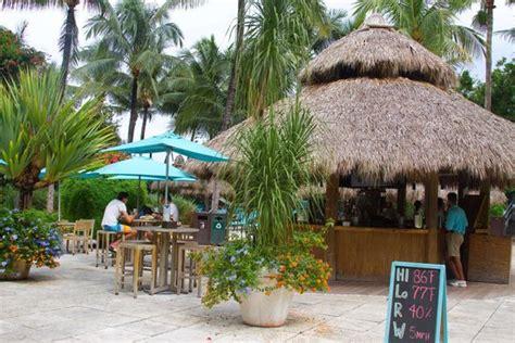 Tiki Hut Prices Miami by Tiki Bar Picture Of The Palms Hotel Spa Miami