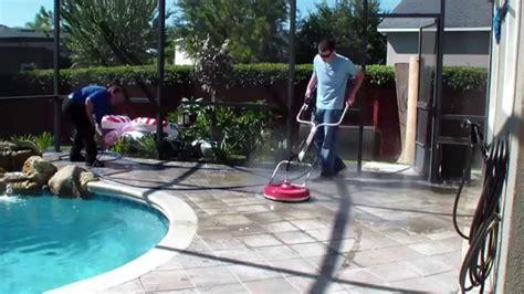 pressure washing  pool deck surface cleaner  pool deck