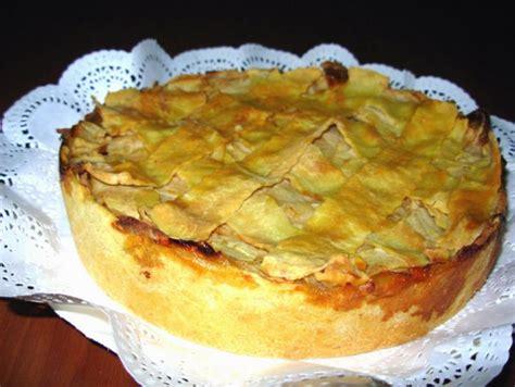 Receta De Kuchen De Manzana Casero (fácil