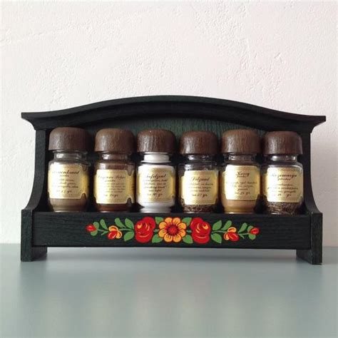 Retro Spice Rack by Vintage Emsa Spice Rack Wall Mounted Green Rack With Retro