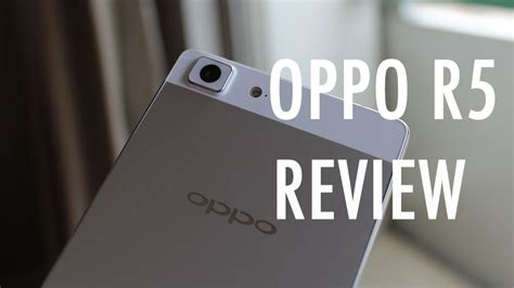 Backdoor Oppo R5 oppo r5 review thin is an understatement pocketnow