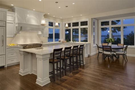 Mercer Island Kitchen Nook   Traditional   Kitchen