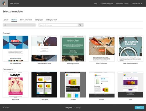 Mailchimp Mobile Templates by Email Templates