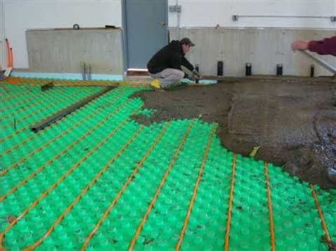 crete heat insulated floor panel system   easily assembled modular board insulation