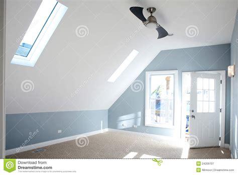 photographie à la chambre chambre à coucher vide moderne avec la couleur bleue de
