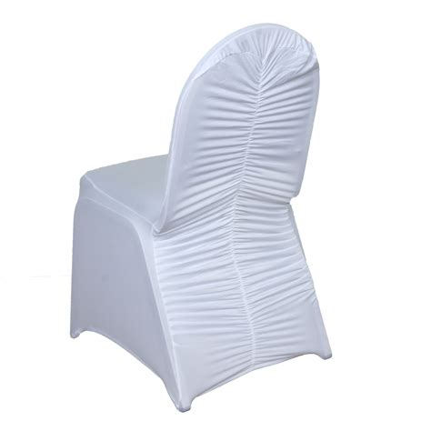 ruched spandex banquet chair covers wedding supplies