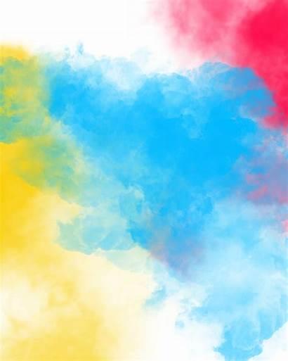 Holi Happy Text Background Smoke Editing