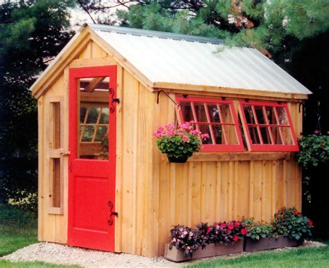 plans for potting shed diy plans 6 x 8 greenhouse storage shed garden tool