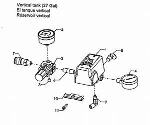 Craftsman 92116474 Air Compressor Parts