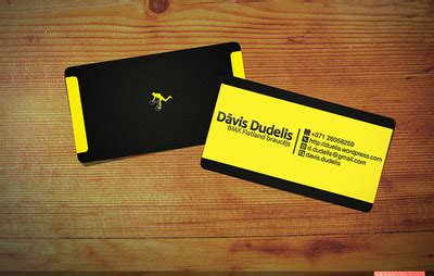 cool business card designs  fantastic font