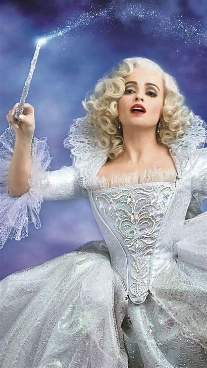 Cinderella Godmother Fairy Action Remake Disney Film