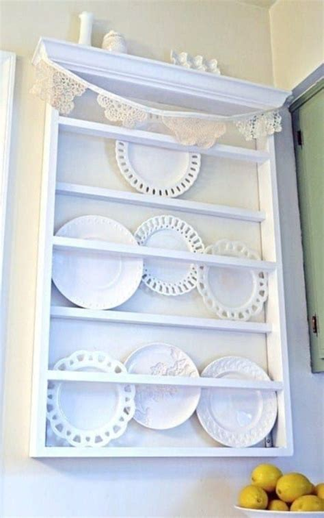 unknown domain wooden plate rack plates  wall plate rack wall