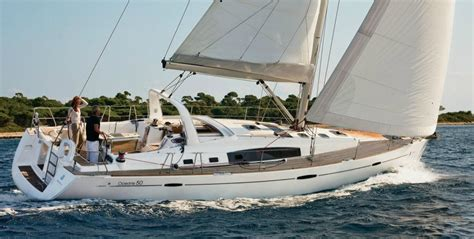 kitchen with 2 islands beneteau oceanis 50 istion yachting greece