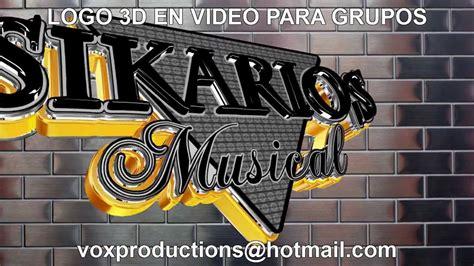 Grupo musical, a coruña, spain. LOGOS PARA GRUPOS MUSICALES 3D MODELADO LOGOS - YouTube