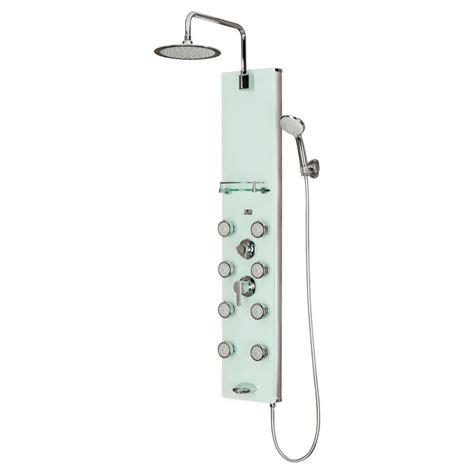 Shower Jet System by Pulse Showerspas Lahaina 8 Jet Shower System With Glass