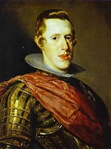 Philip IV in Armour - Diego Velazquez Painting