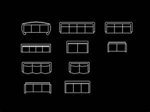 Sofa design Autocad Blocks, Autocad Drawing, Autocad Dwg