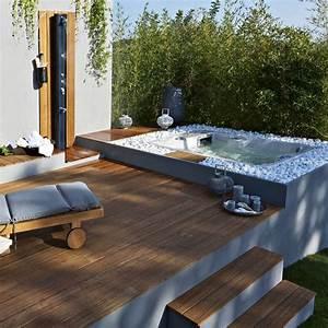 mini piscines 20 modeles maxi plaisir pour petits With attractive terrasse en bois pour piscine hors sol 7 installer une mini piscine