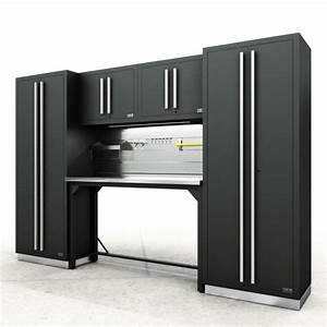 Fusion Pro Cabinets  U2013 6 Piece Work Bench Set  U2013 Proslat Us