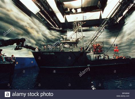 Fishing Boat Storm Movie by Fishing Boat On Film Set The Perfect Storm 2000 Stock