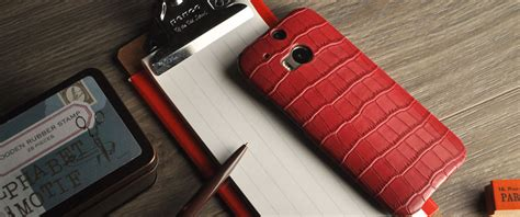 How To Open Htc One M8 Back Cover by Custom Handcrafted Htc One M8 Genuine Leather Back Cover