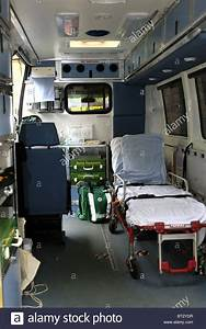 Inside an Ambulance with all the lifesaving equipment ...