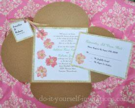 wedding invitations ideas for do it yourself oxsvitationcom With wedding invites ideas do yourself