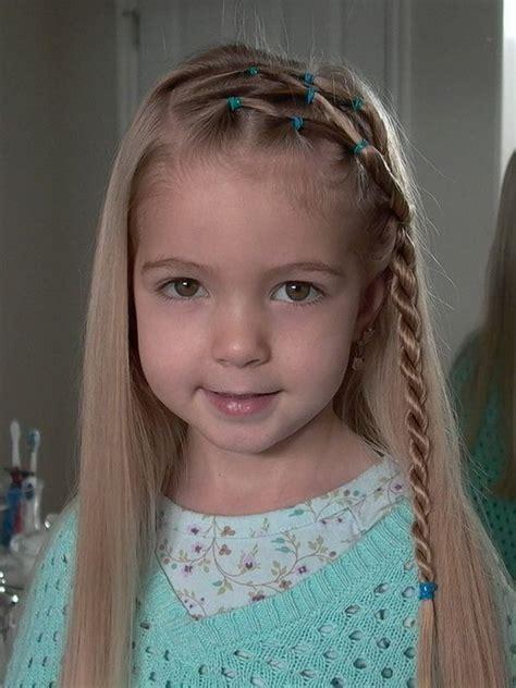 cute hairstyles for little girls girls hair ideas cute braided hair style for long hair
