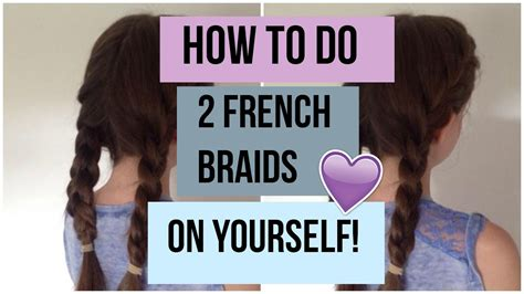 french braids   step  step