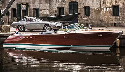 Riva Boats Nz by Classic Lamborghini Powered Boat Restored Stuff Co Nz