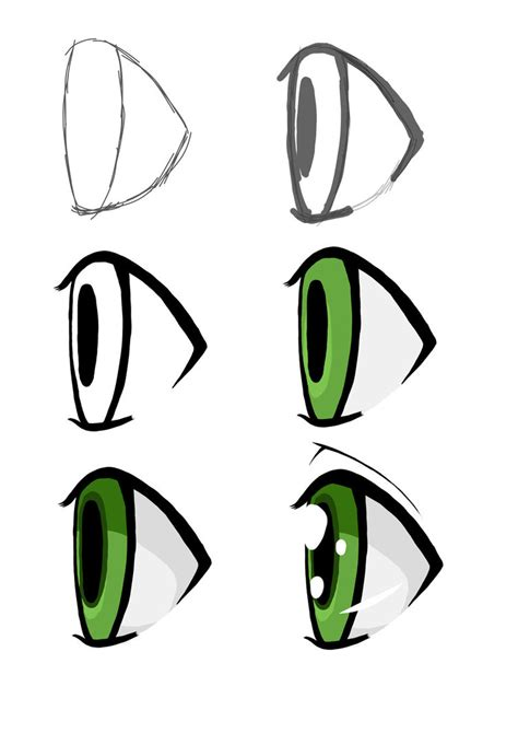 Anime Eyes From The Side Eyes On The Side By Sleepy Monster On Deviantart