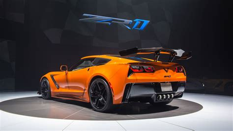 2019 Chevy Corvette Zr1 Debuts With 755 Horsepower