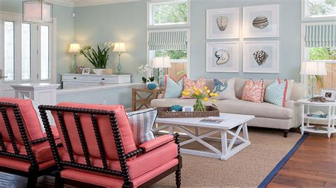 Coastal Living Room Designs-beach House Living Room