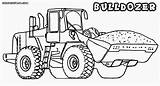 Bulldozer Coloring Pages Colouring Template Children sketch template
