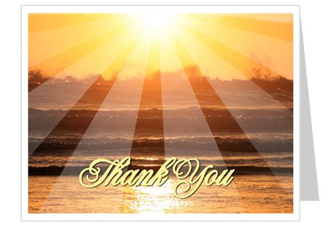 Feel free to use the template provided as a foundation for your own funeral card. Sunrise Funeral Thank You Card Template | Thank You Cards
