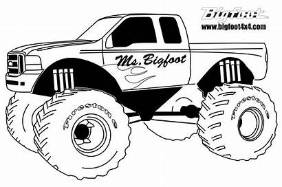Coloring Monster Truck Pages