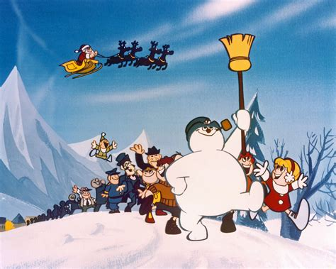 Frosty The Snowman Tv Special Girl On Roof Pictures To Pin