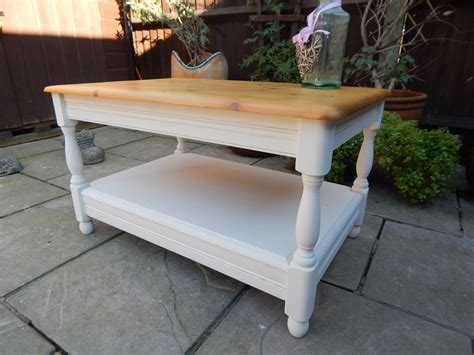 shabby chic pine table lovely pine shabby chic coffee table sold moonstripe