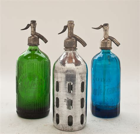 collection v vintage seltzer bottles the seltzer shop