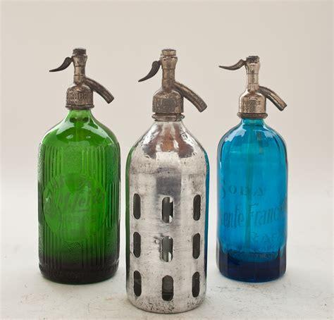 collection v vintage seltzer bottles the seltzer shop