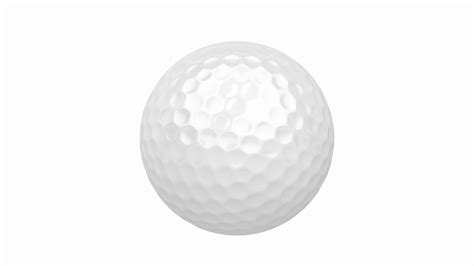 Balls Images White Background by Golf Spin On White Background Motion Background