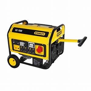 Brico Depot Groupe Electrogene : stanley groupe lectrog ne 7500w 439 cc achat vente ~ Dailycaller-alerts.com Idées de Décoration