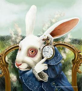 The White Rabbit by vampirekingdom on DeviantArt